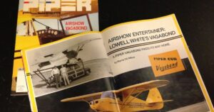 Piper Flyer magazine with Vagabond