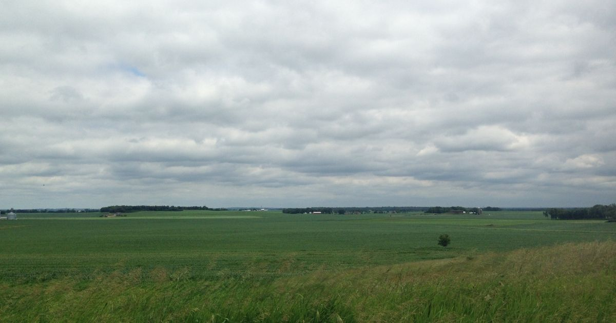 Farm field in Minnesota
