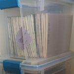 Writing Journals organized